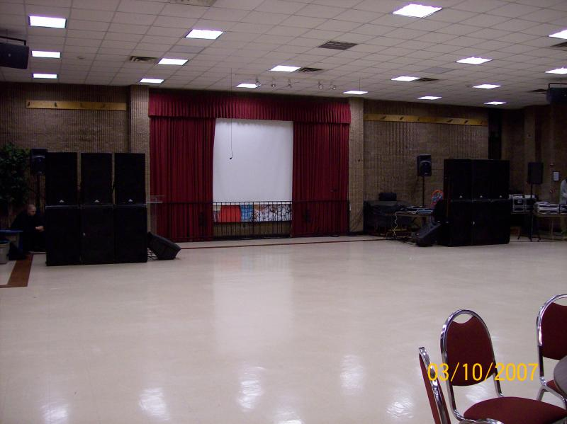 Dance Promoter party sound system rentals in NYC