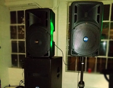 Sound system rentals in New Jersey